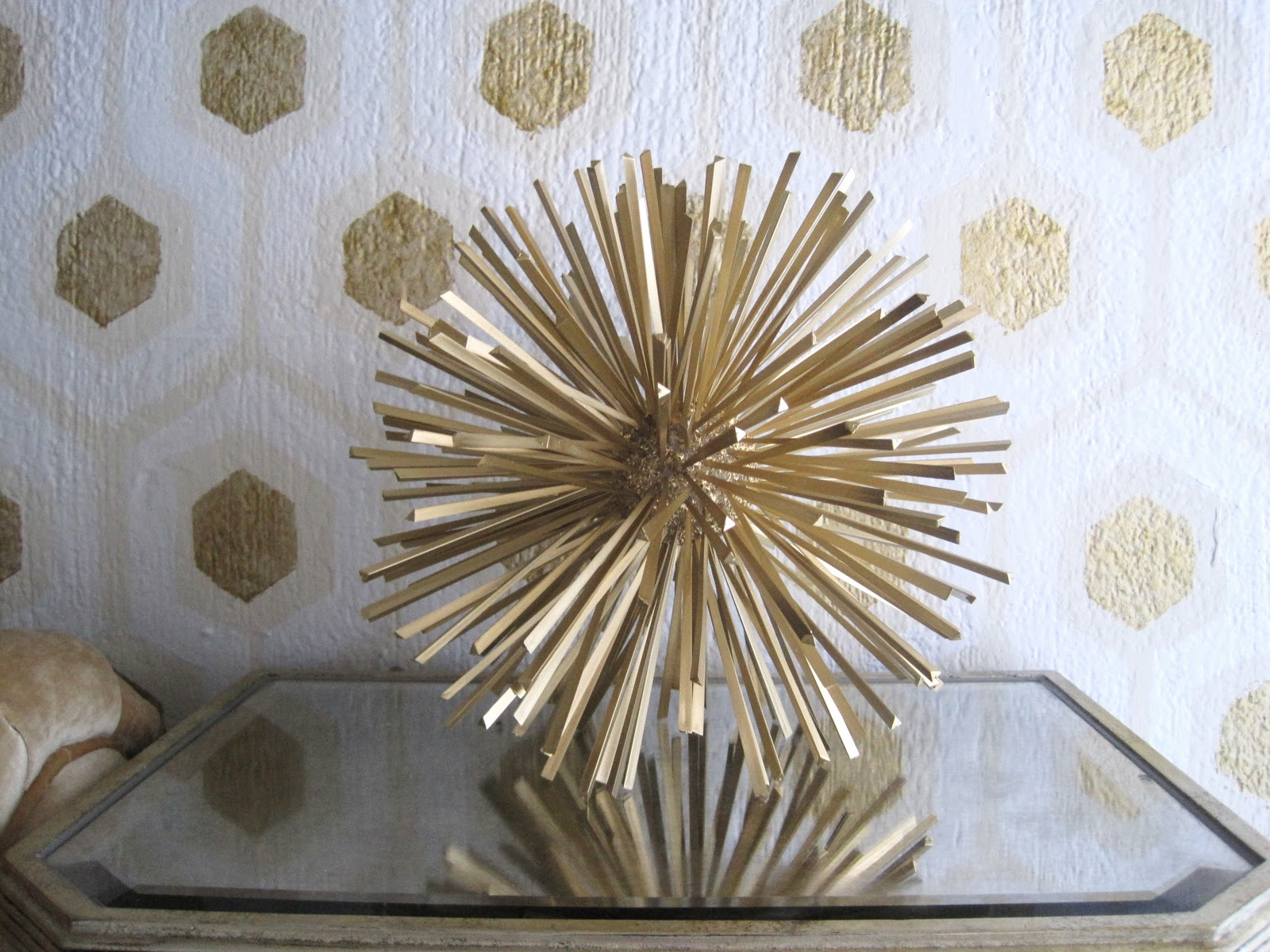 adventures of an almost 40 year old intern d not fabulous starburst urchin sculptures. Black Bedroom Furniture Sets. Home Design Ideas