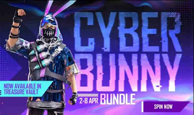 Free Fire Cyber Bunny Bundle Redeem Code For Free