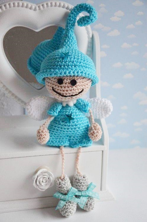 Angel Amigurumi Tutorial : Amigurumi Little Elf Angel-Free Pattern Amigurumi Free ...