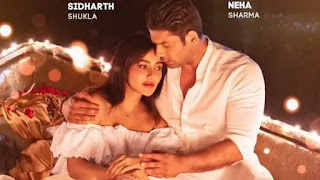 sidharth shukla and neha sharma in music video 'Dil ko Karaar aaya'