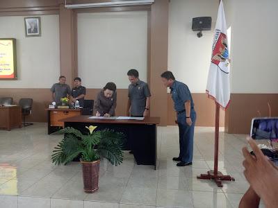 DPRD Minsel Tetapkan Lima Fraksi Dan Calon Pimpinan Dewan Serta Pansus