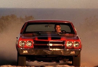 Dominic Toretto with 1970 Chevrolet Chevelle SS red color