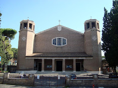 The church of San Roberto Bellarmino in the Parioli district of Rome