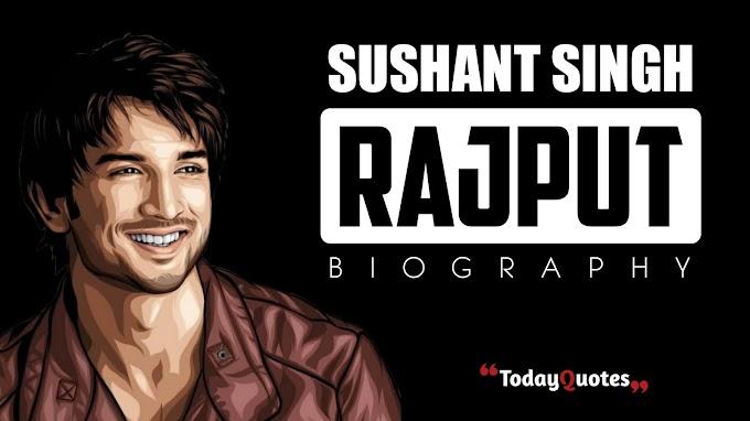Flim Actor Sushant Singh Rajput Biography