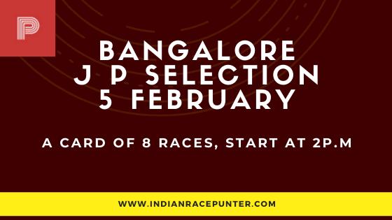 Bangalore Jackpot Selections 5 February