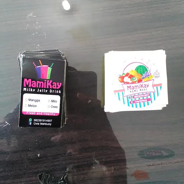 Stiker Label Makanan dan Minuman