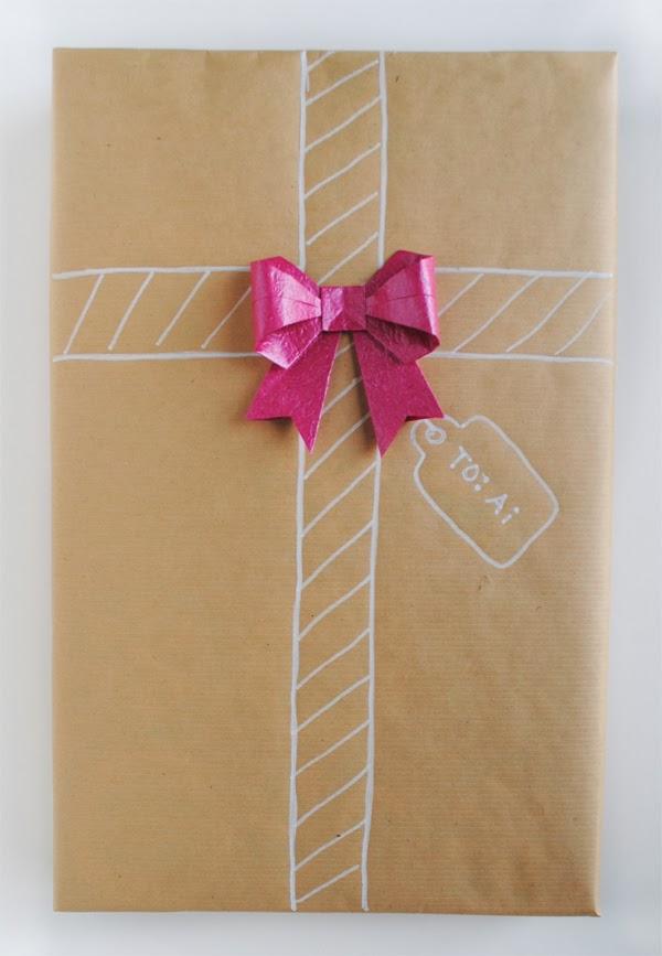 zakka life: Part II: Christmas Gift Wrap with Origami Details - photo#29