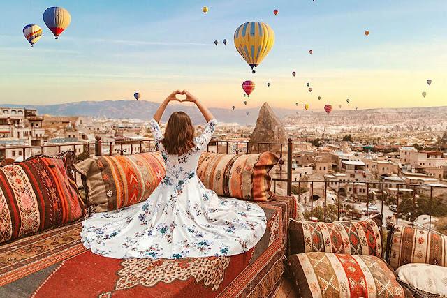 Đến Thổ Nhĩ Kỳ đắm say trong khung trời cảnh đẹp