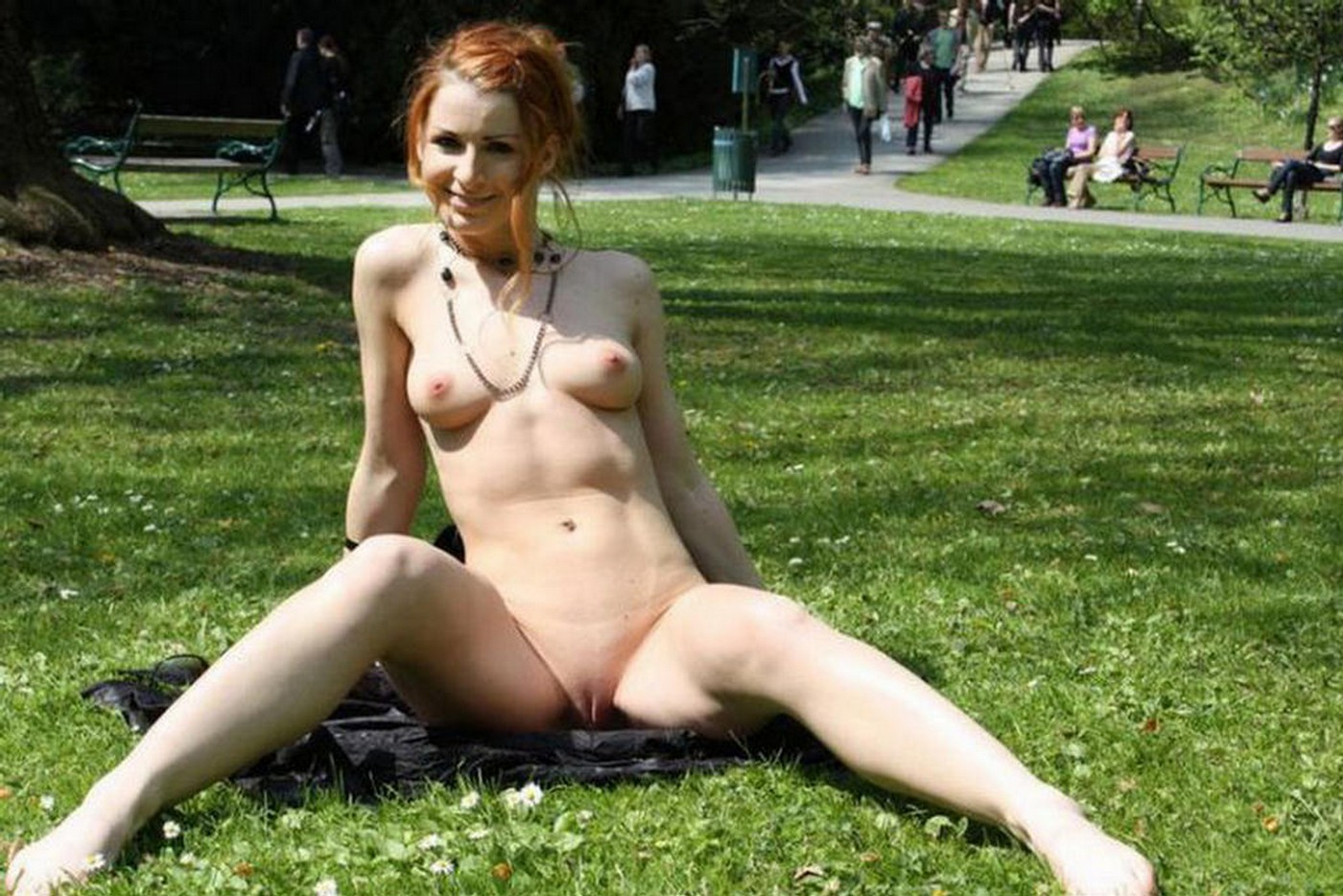 Nude On Public Video