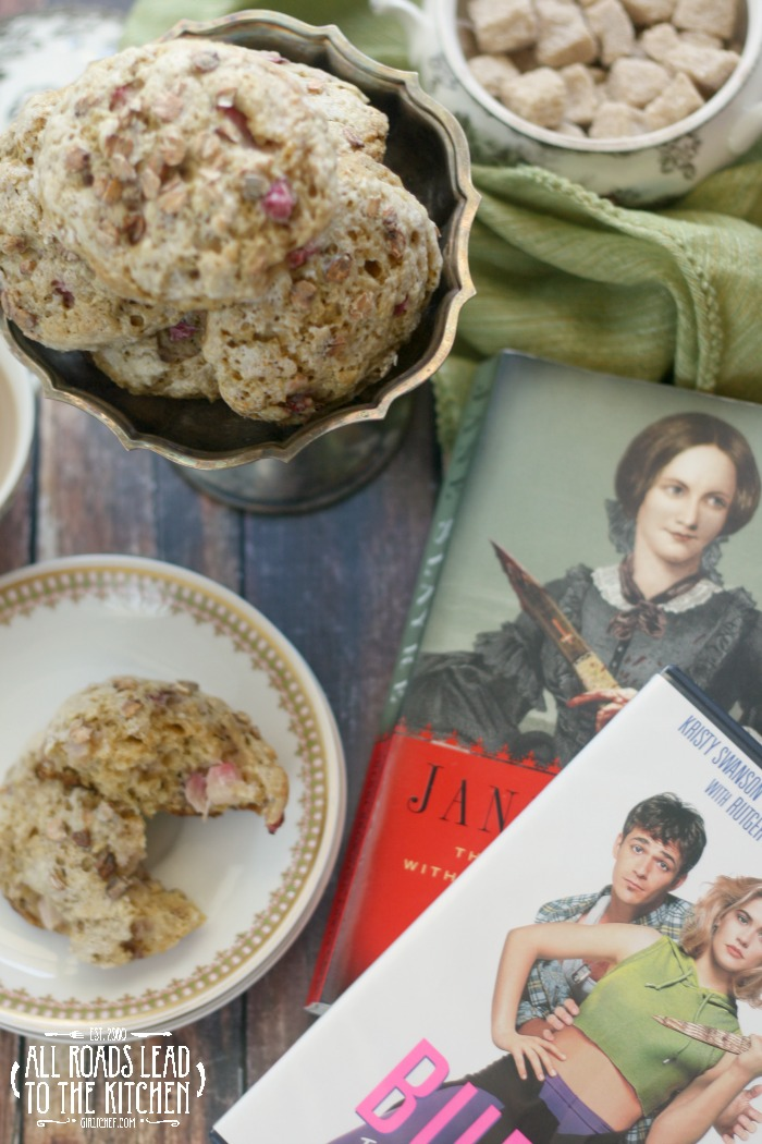 "Strawberry ""Brown Bread"" Scones - Jane Slayre meets Buffy the Vampire Slayer"