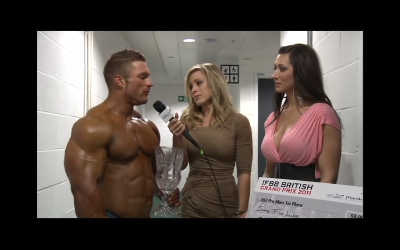 Worldwide Bodybuilders: CFNM - Clothed female, (almost