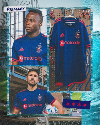 Chicago Fire 2021 Home Kits