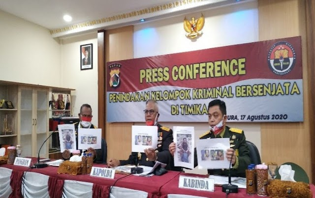 Gerebek Markas KKB, Satgas Gabungan TNI-Polri Berhasil Lumpuhkan Pimpinan KKB
