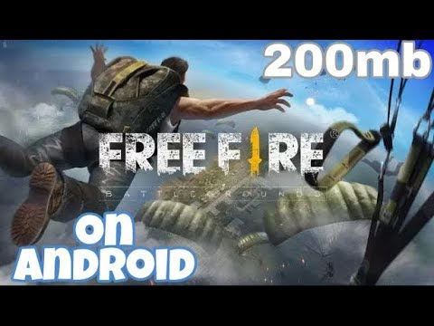 free fire game for pc