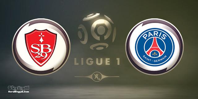 نتيجة مباراة بريست وباريس سان جيرمان بتاريخ 20-08-2021 في الدوري الفرنسي
