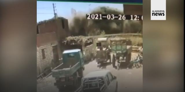 Detik-detik Dua Kereta Mesir Saling Bertabrakan Dan Ungkapan Duka Cita Presiden Palestina Abbas Kepada Sisi