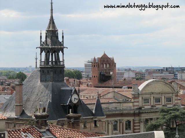 Panorámicas desde las Galerías Lafayette de Toulouse