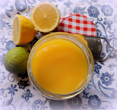 Lemon, Lime & Ginger Curd
