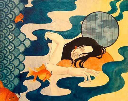 Ilustración, pintura y fantasía con Shoko Ishida