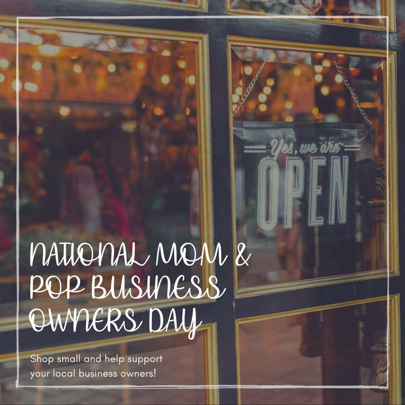National Mom and Pop Business Owners Day Wishes for Instagram