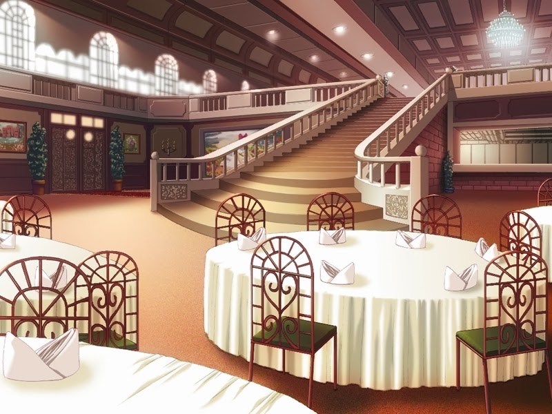Restaurant Anime Background