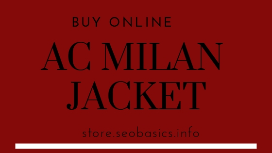 AC Milan Jacket: Buy Best Online at Factory Price with Top Deals