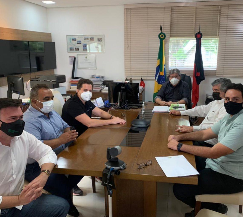 Raniery Paulino expõe teor da reunião de parte do MDB-PB com o governador João Azevêdo