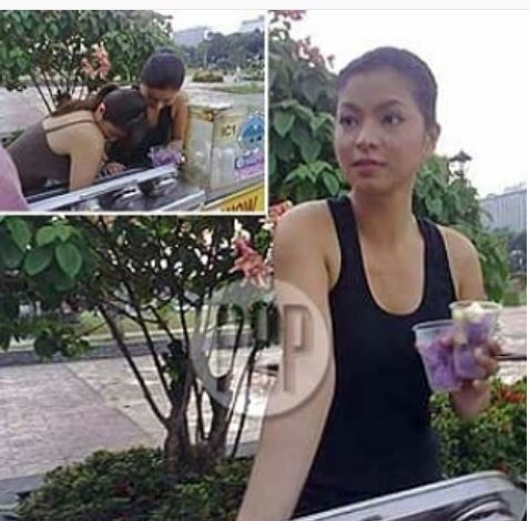 Angel Locsin And Diana Zubiri Sneaks An Ice Cream While The Vendor Is Away!