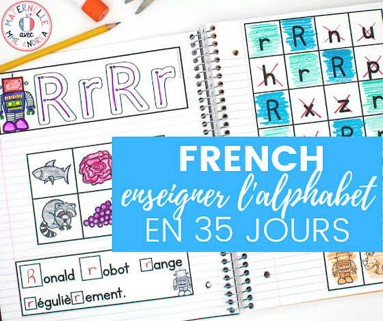 Are you a French primary teacher wrapping up the end of the school year? Check out this blog post for five fun ways to help you count down (such as this alphabet countdown resource), as well as a FREE set of French countdown posters!