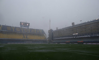 Boca Juniors - River Plate Final of the Copa Libertadores 2018 postponed by heavy rain