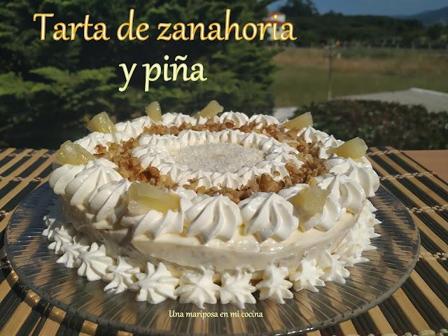 Tarta De Zanahoria Y Piña