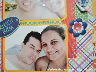 scrapbook summer beach ferias