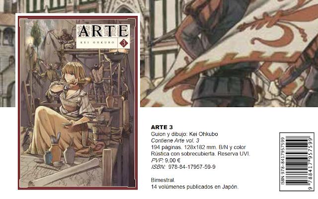 Arechi Manga novedades mayo 2021.