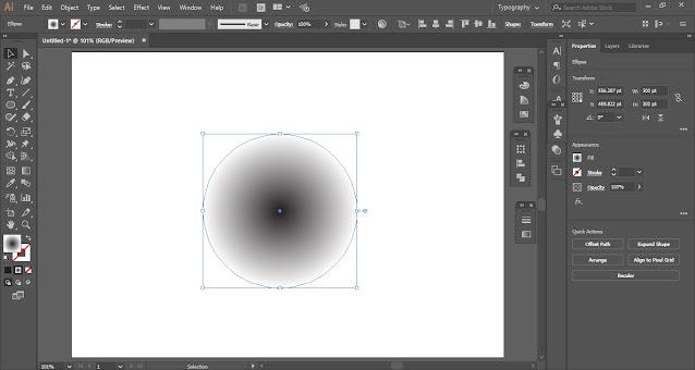 Halftone Dots in Adobe Illustrator