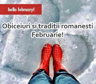 Obiceiuri si traditii romanesti Februarie de la Dragobete la Sfantul Vlasie si Trifon