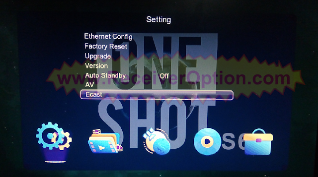 ONE SHOT S6W 1506TV NEW SOFTWARE WITH ECAST & ACTIVEX OPTION