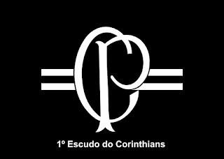 1º Escudo do Corinthians Logo Vector