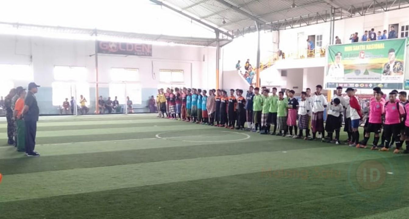 Gelar Futsal Sarungan Championship, Kadispora Apresiasi Ansor Kabupaten Malang