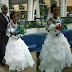 Elderly Man With Walking Stick All Smiles As He Weds His Old Bride In Imo