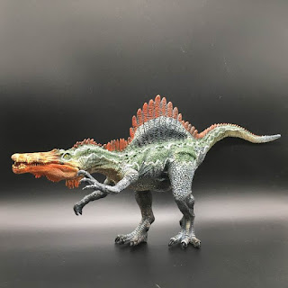 Dinosaur Figure Spinosaurus Toys 30cm with Moveable Jaw