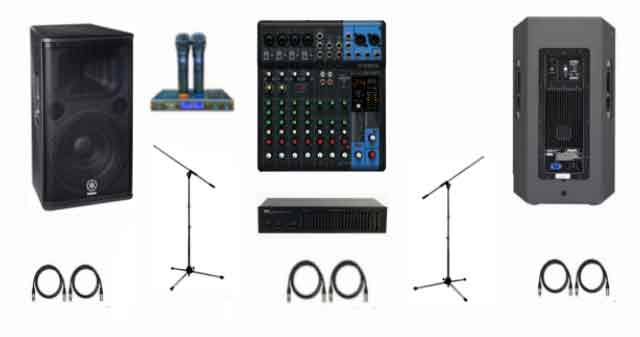 Paket Sound System Yamaha