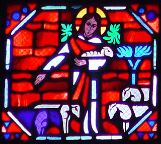 Le Breton, Jacques ; Gaudin, Jean. Jesus the Good Shepherd, from Art in the Christian Tradition, a project of the Vanderbilt Divinity Library, Nashville, TN. http://diglib.library.vanderbilt.edu/act-imagelink.pl?RC=51560 [retrieved April 10, 2016]. Original source: Collection of Anne Richardson Womack.
