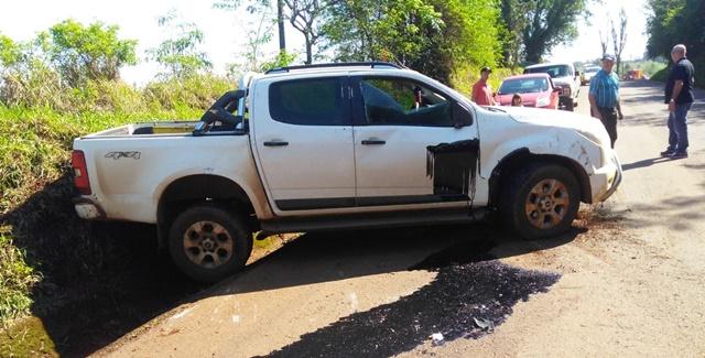 Dois acidentes foram registrados neste domingo na região de Roncador
