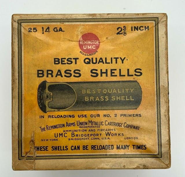 Antique 16 GA Shotgun Shell 2 Piece Box