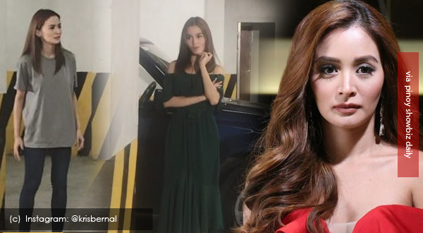 """Kris Bernal reveals how she manages to act out her two characters in one scene for """"Impostora"""""""
