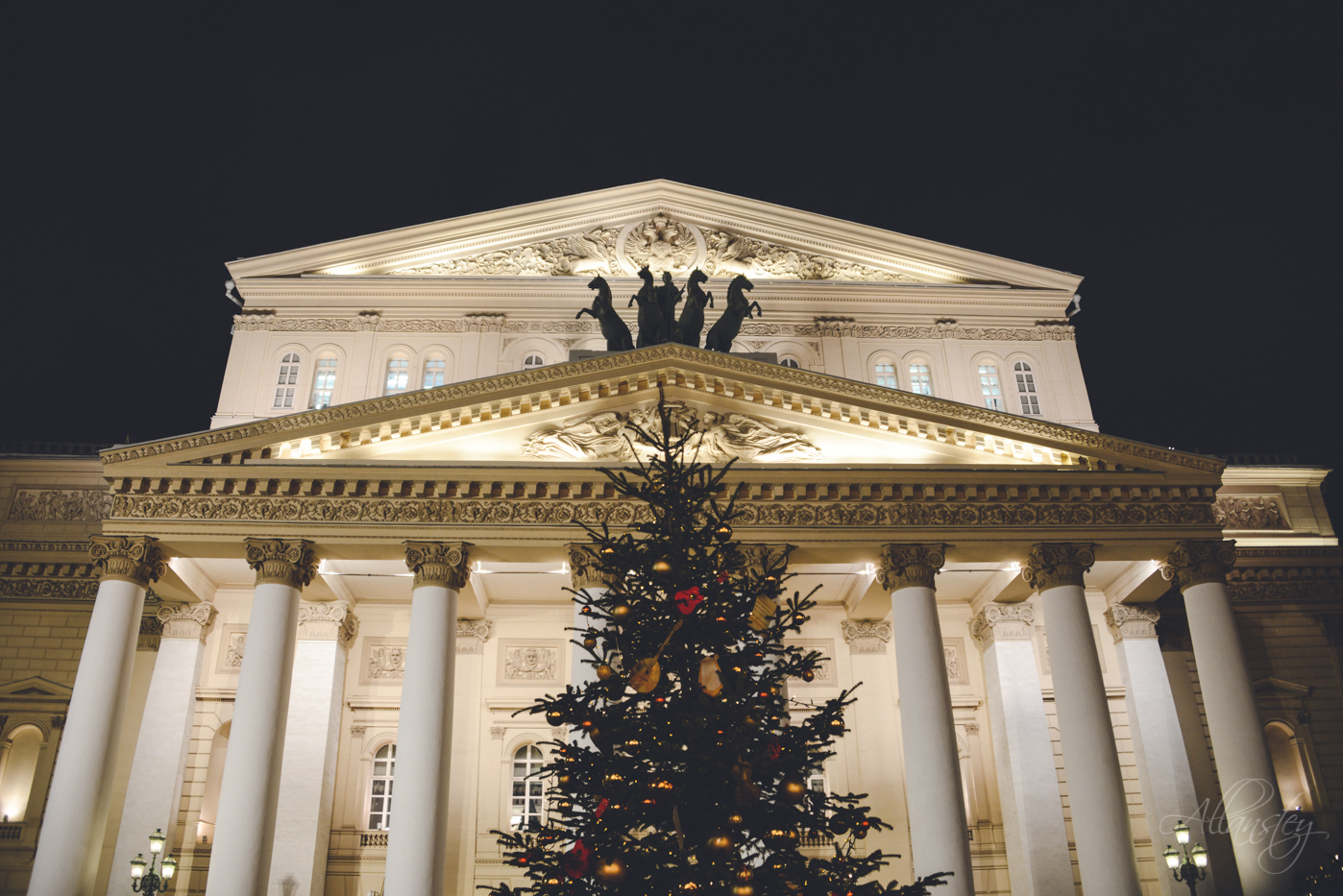 Bolshoi Theatre, Christmas tree