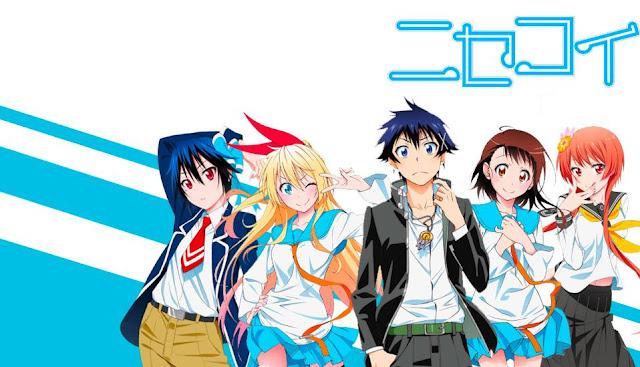 Anime Mirip Eromanga-Sensei Terbaik - Nisekoi