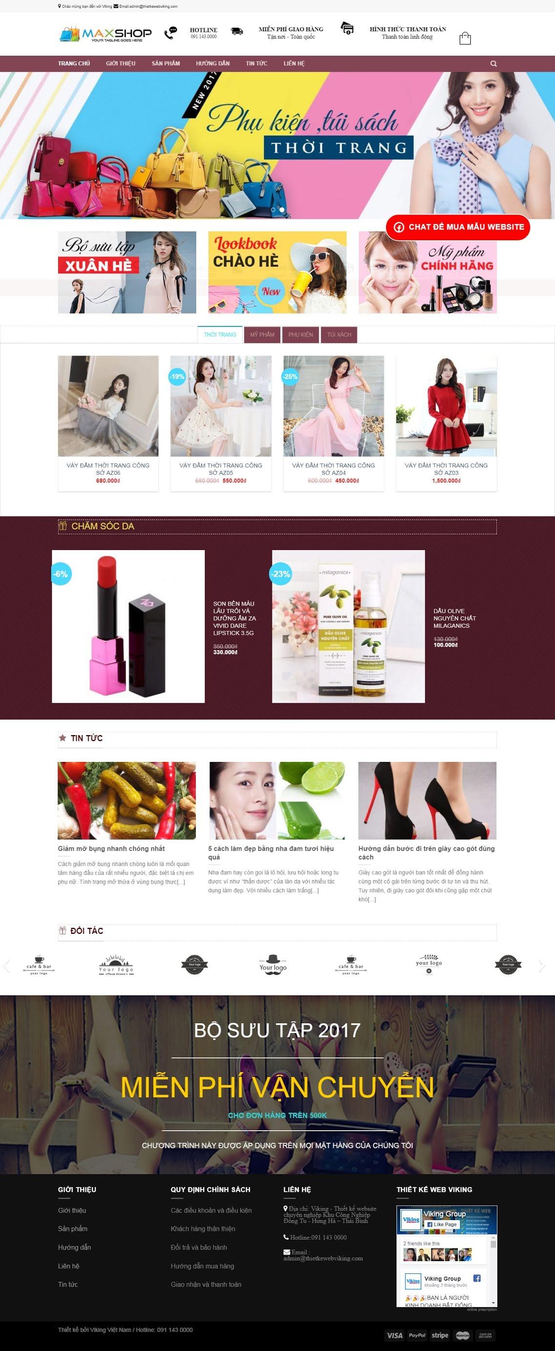 BÁN HÀNG 077 - thời trang
