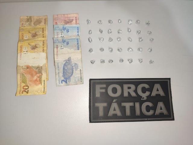 Itaquiraí - Polícia Militar prende dois indivíduos por tráfico de drogas durante Operação Hórus