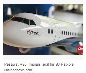 Pesawat Buatan BJ Habibie